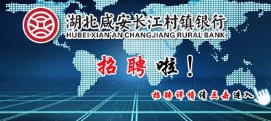 湖北咸安长江村镇银行2018年招聘公告